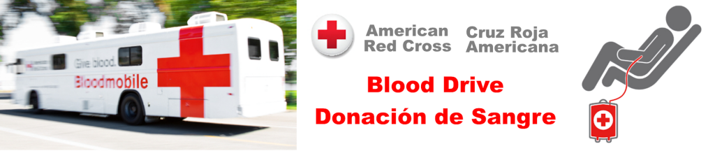 Holy Rosary Blood Drive banner