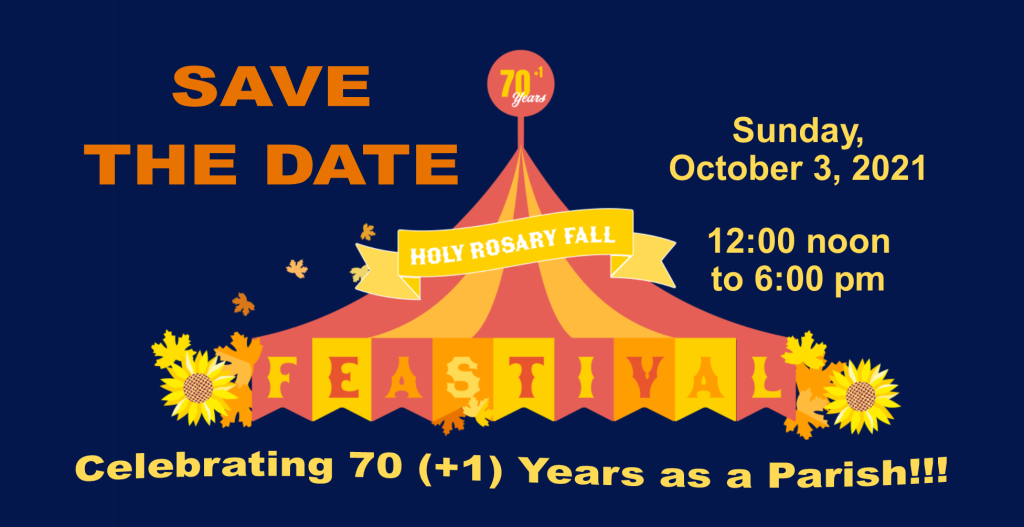 SAVE THE DATE: Fall Feastival