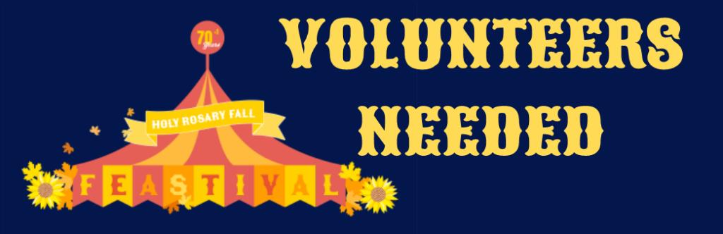 Feastival Volunteers Needed
