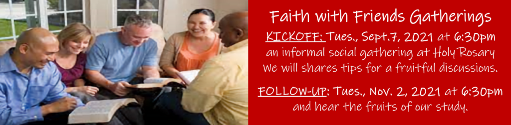 Faith with Friends Fall 2021 header