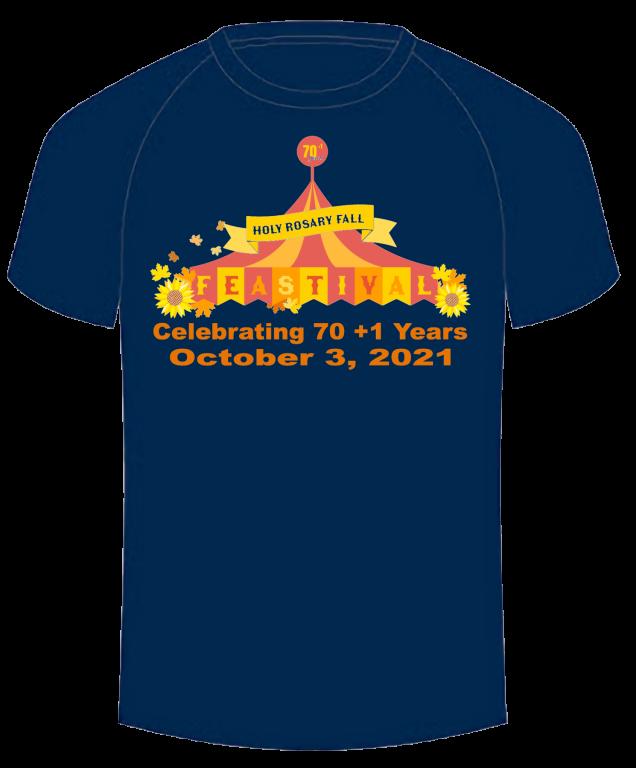 2021 Holy Rosary Fall Feastival T-shirt