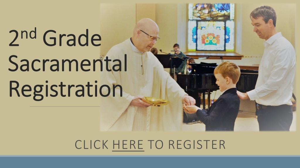 Sacramental Preparation Registration