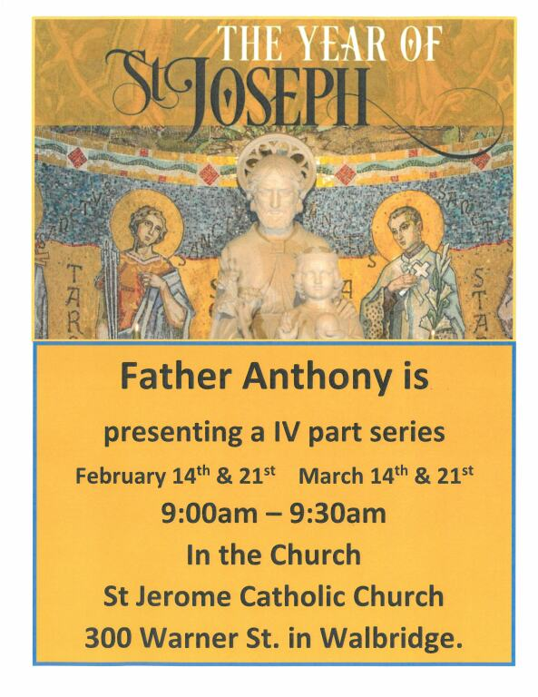 Year of Saint Joseph-with Fr. Anthony