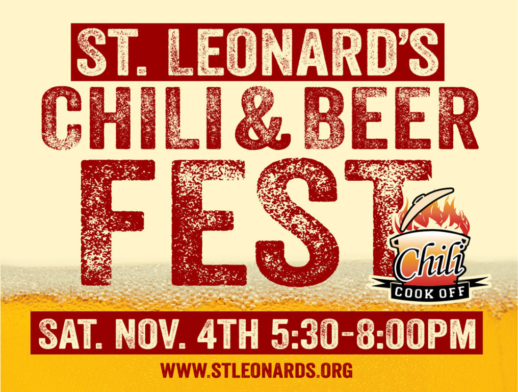 chili and beer fest sign image 2017