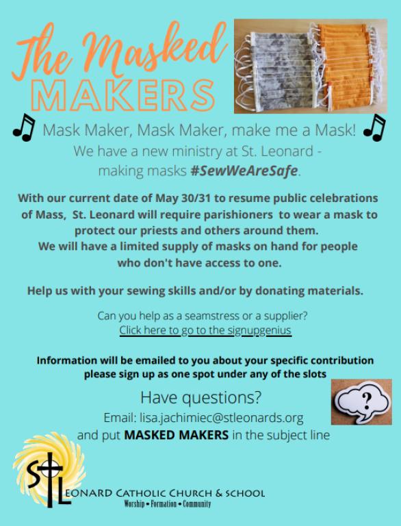 Masked Makers Flyer