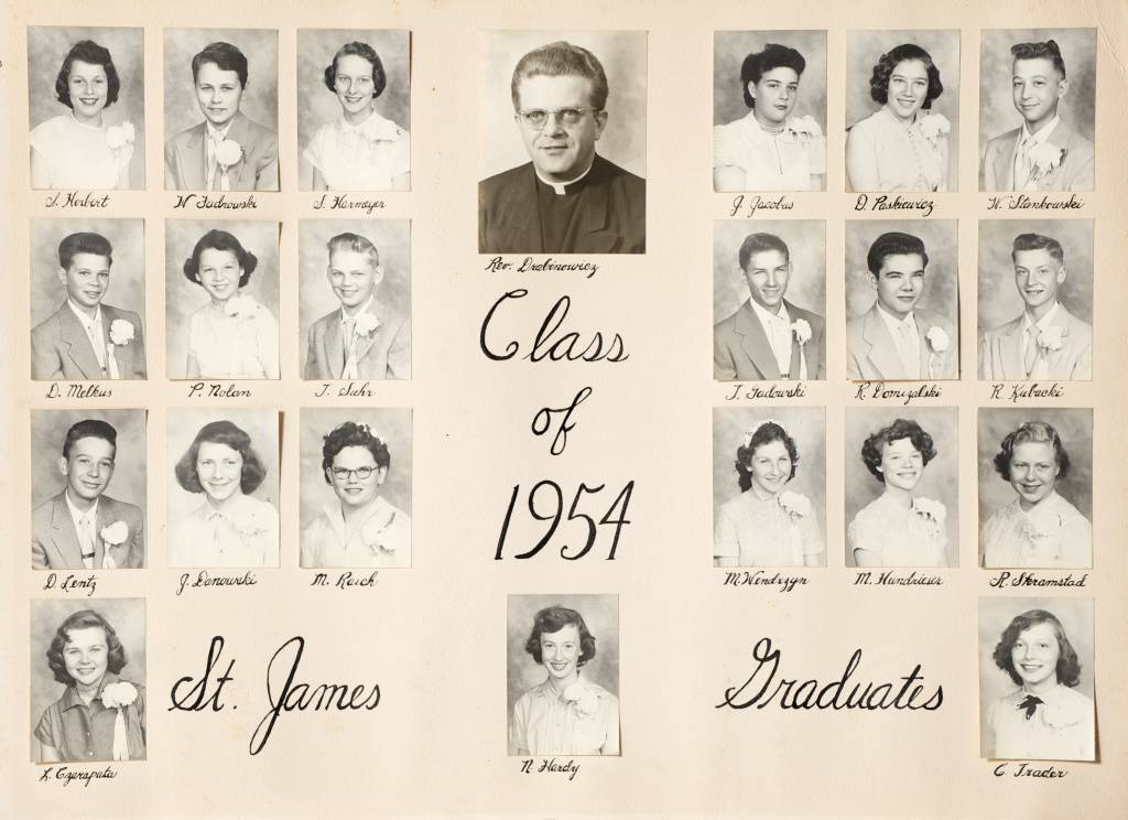 Grade School 1953 1968 St James Catholic Church