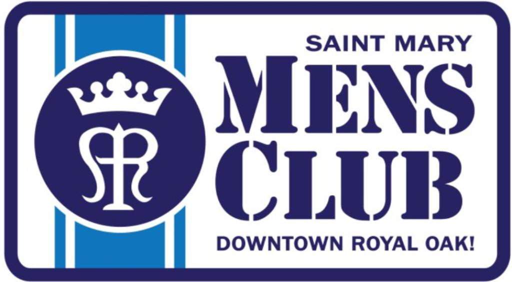St. Mary Catholic Community Downtown Royal Oak Men's Club Logo