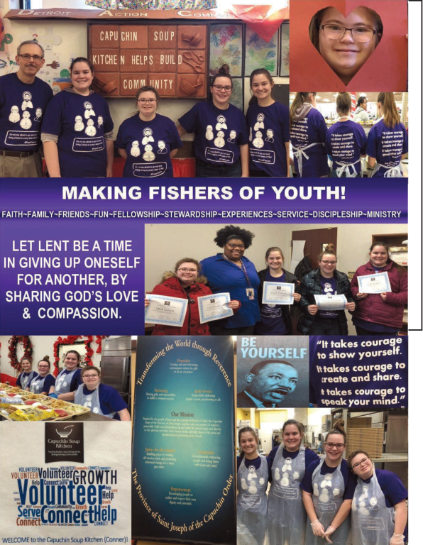 St. Mary Catholic Community Downtown Royal Oak Youth Ministry Program