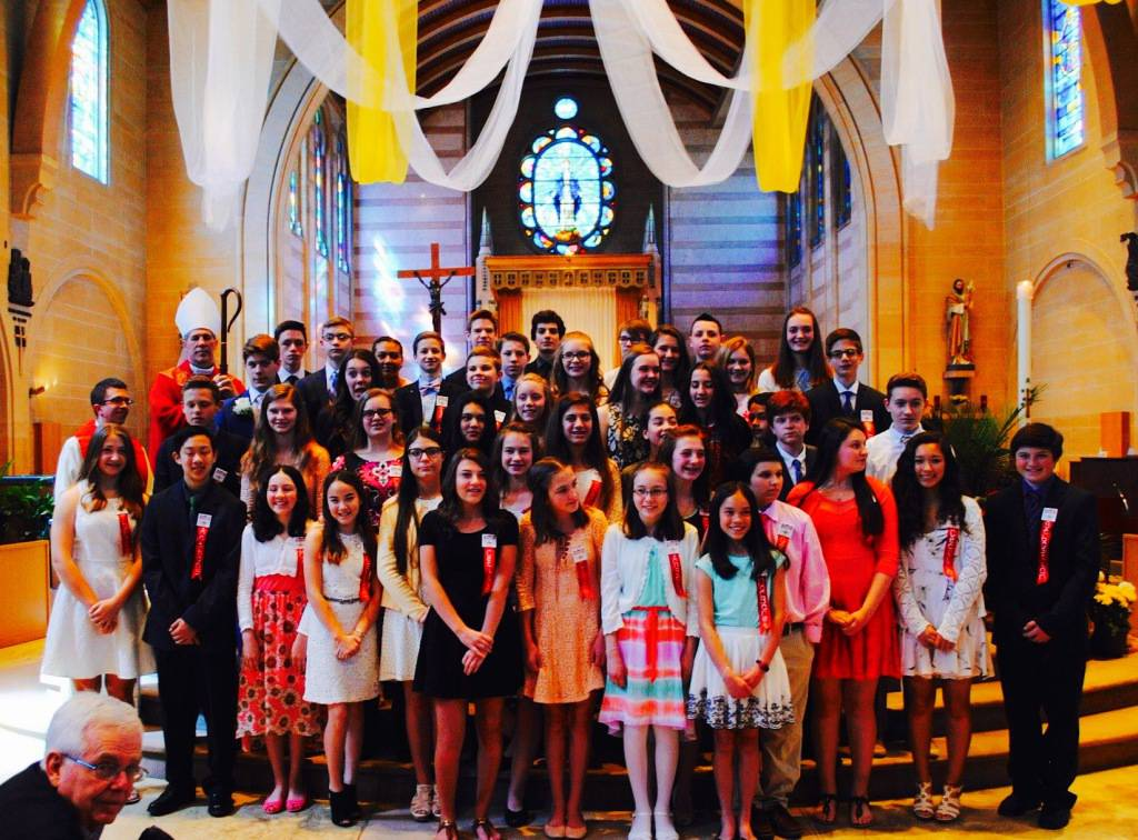 St. Mary Catholic Community Downtown Royal Oak 2016 Confirmation