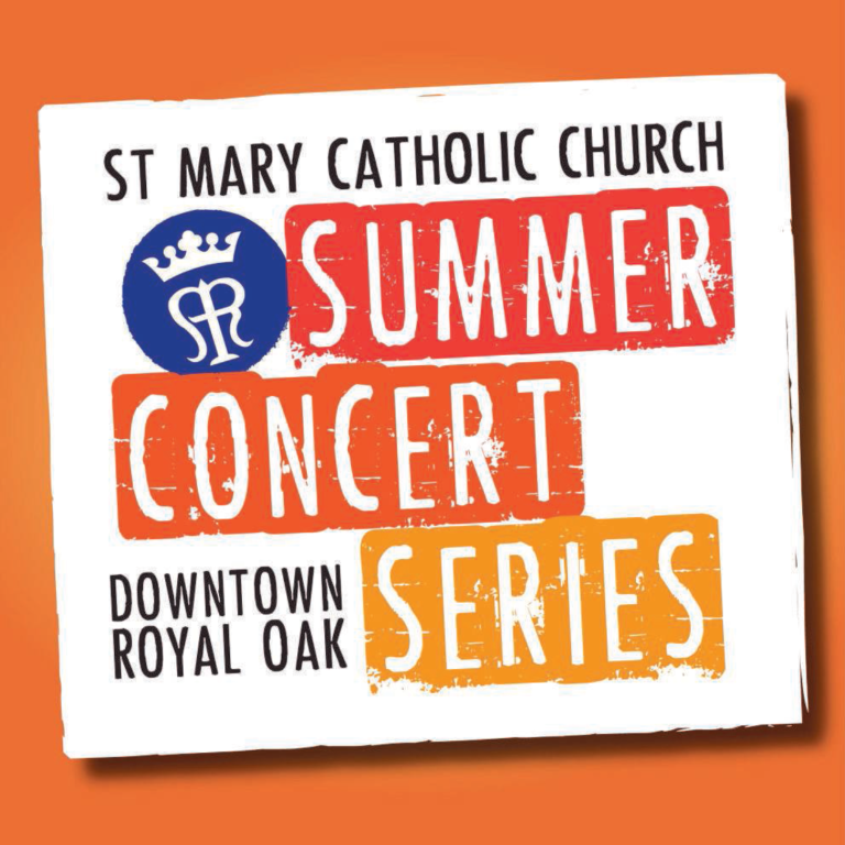 St. Mary Catholic Community Downtown Royal Oak Summer Concert Series