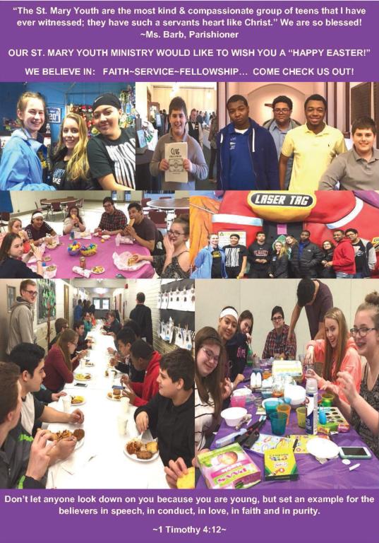 St. Mary Catholic Community Downtown Royal Oak Youth Ministry Program