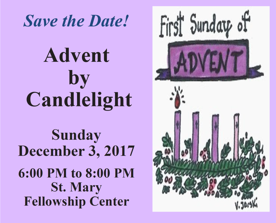 St. Mary Catholic Community Downtown Royal Oak Advent by Candlelight
