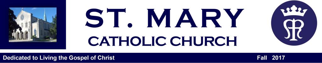St. Mary Catholic Community Downtown Royal Oak Spring Parish Newsletter 2017
