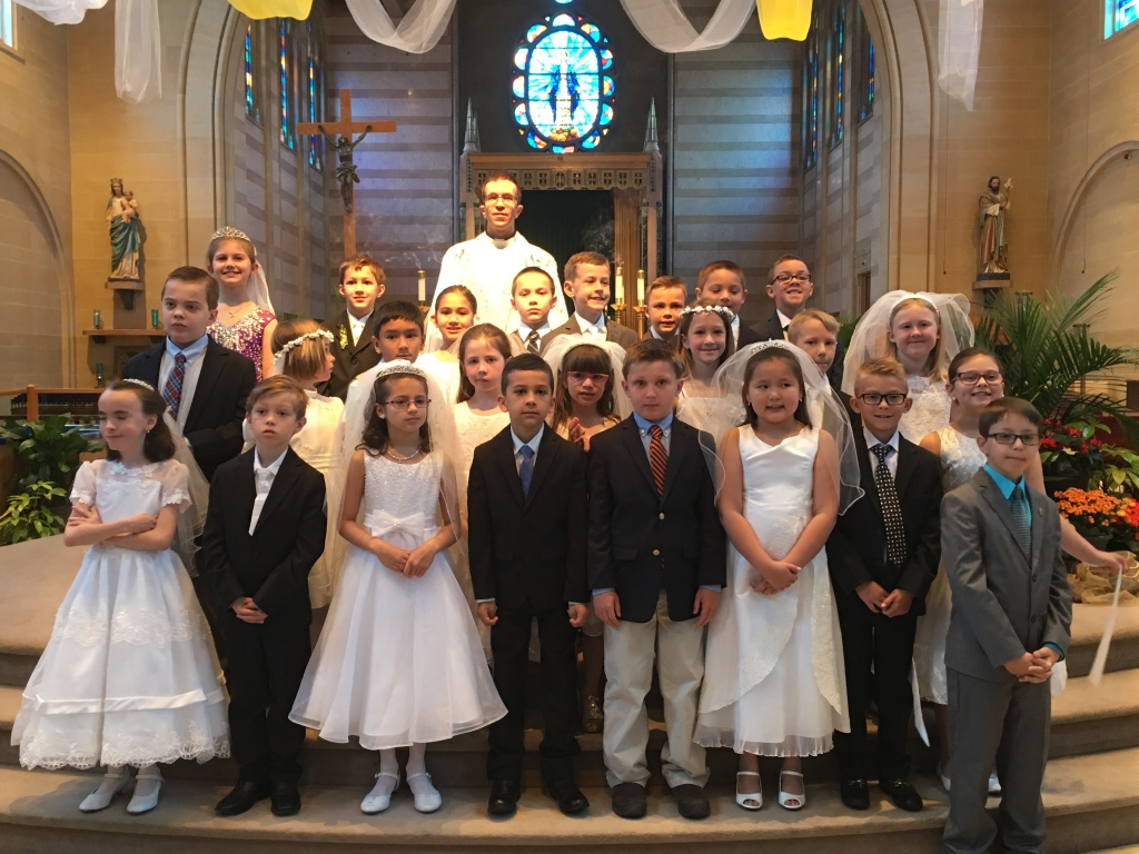 St. Mary Catholic Community Downtown Royal Oak 2016 1st Communions