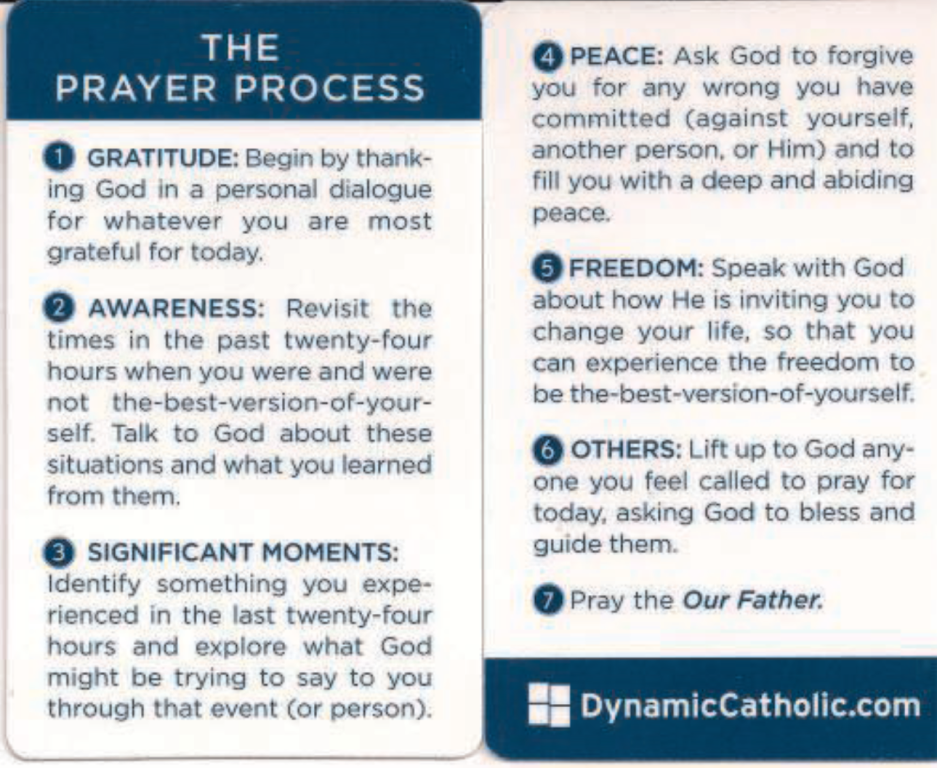 St. Mary Catholic Community Downtown Royal Oak Prayer Process