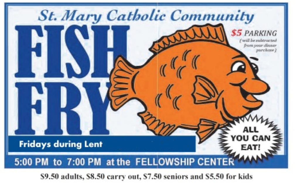 St. Mary Catholic Community Downtown Royal Oak Fish Fry