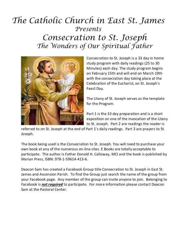 St Joseph Flyer 2021