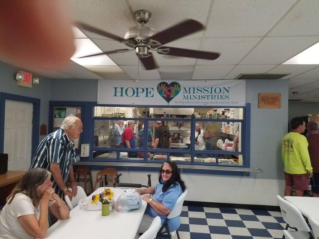 Serving at Hope Mission