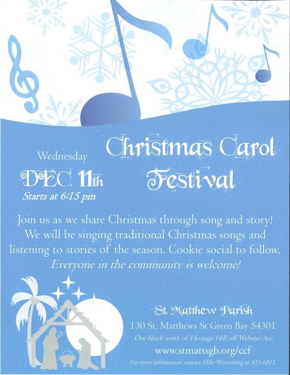 Christmas Carol Festival