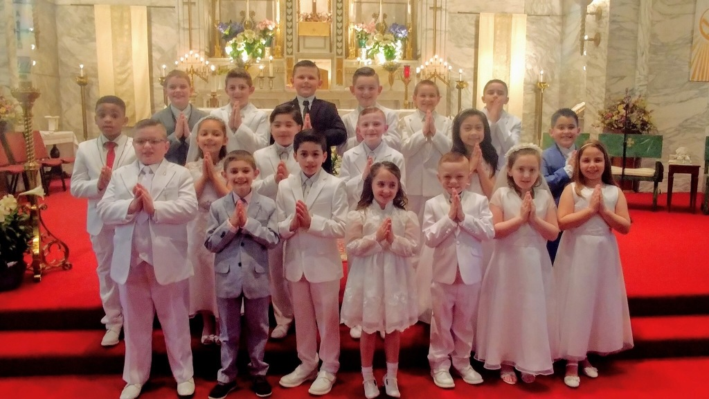 First Communion Class of 2019