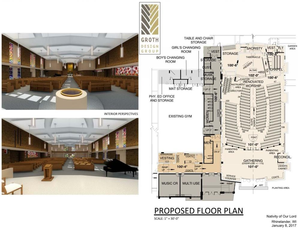 January Floor Plan