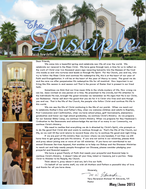 The Disciple May/June 2015