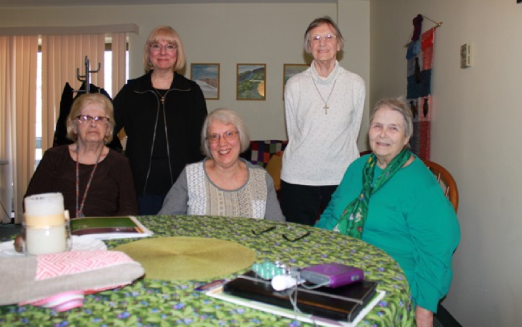 Monday – Bar Harbor Group Joan Sheridan, Kathy Perrine, Edith Lyman, Carol Stabinsky, Sue Seavey