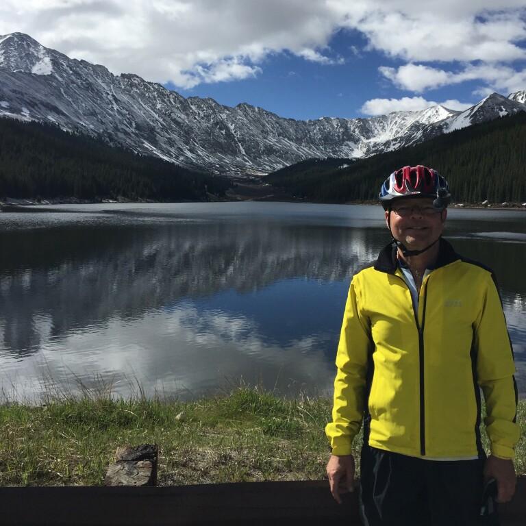 Ride the Rockies - Fr. Steve