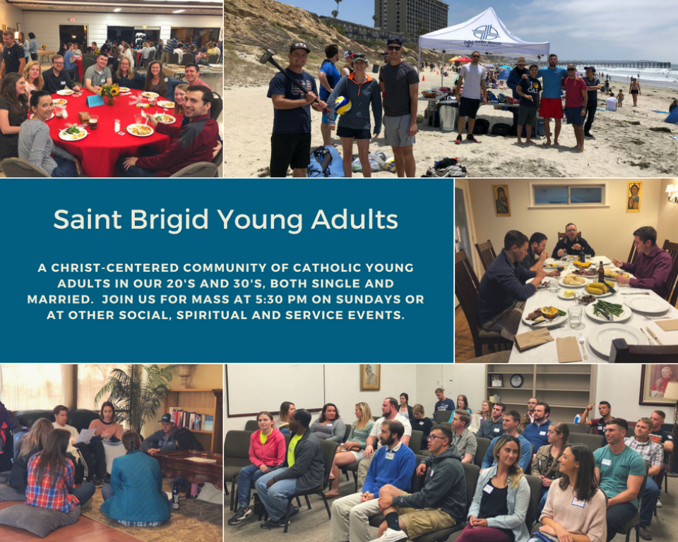 St Brigid Catholic Church Young Adults