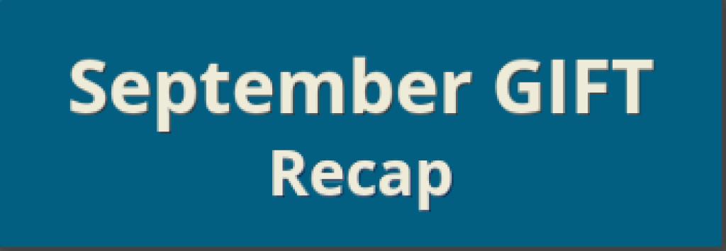 Sept Recap