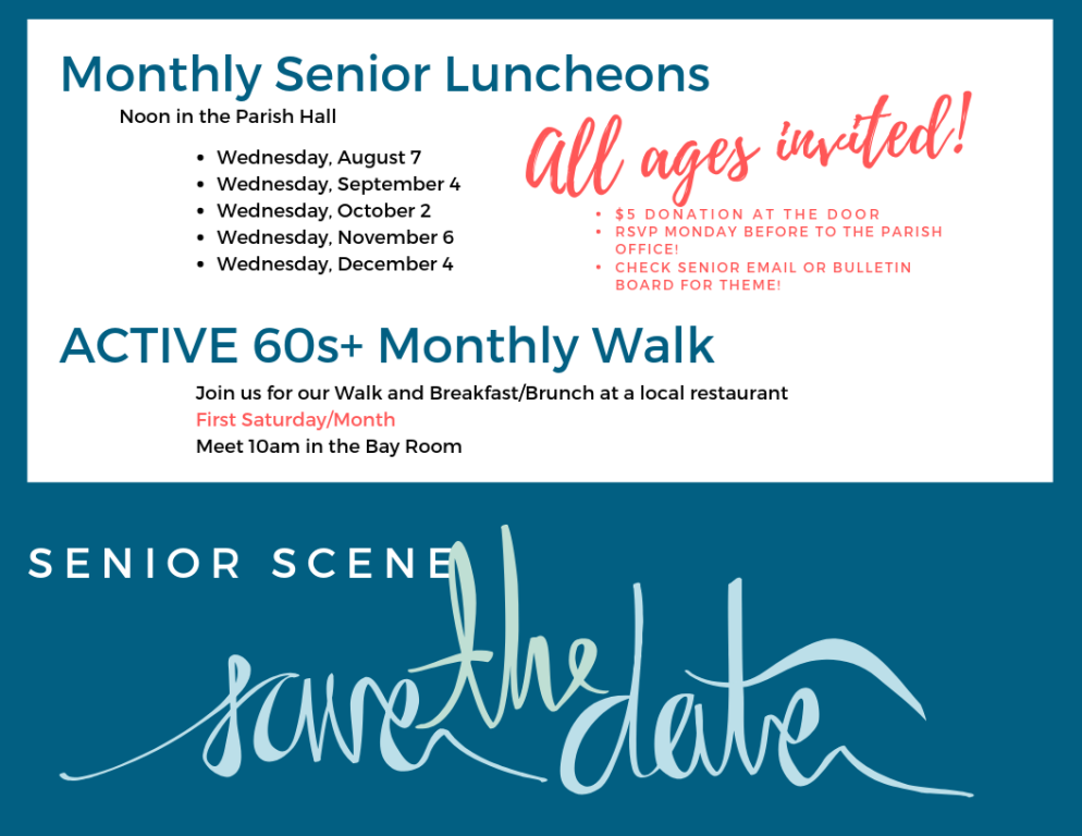 Luncheon Dates to Save
