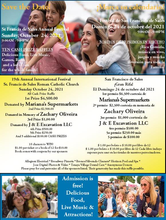 19th Annual Parish Festival