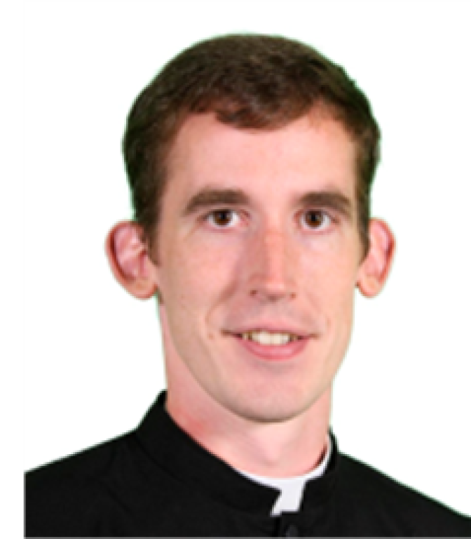 Newly ordained Priest Paul Nacey
