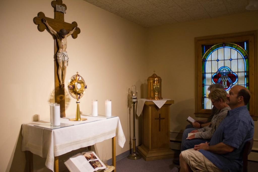 Adoration Chapel St Francis Of Assisi Catholic Parish