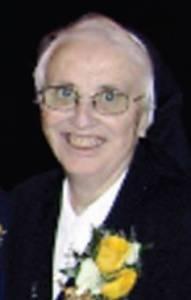 Photo of Sr. Josephine St. Leger S.J.C.