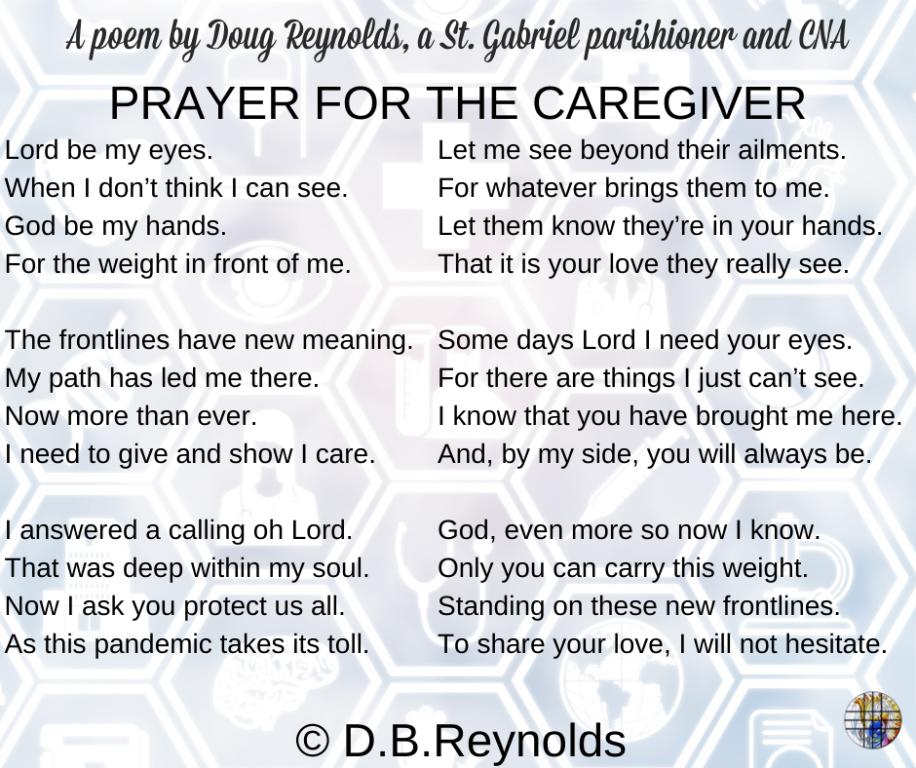 Caregiver Poem