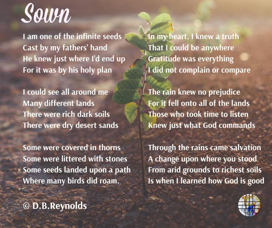 Sown Poem