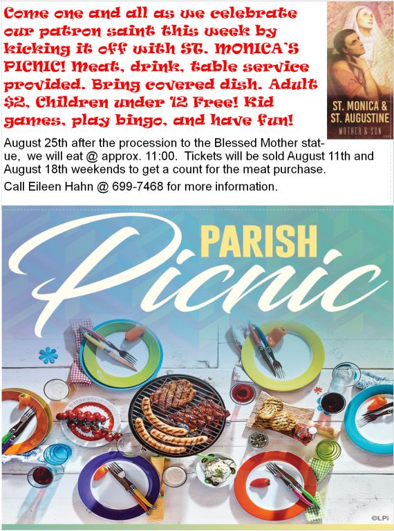 2019 Parish Picnic