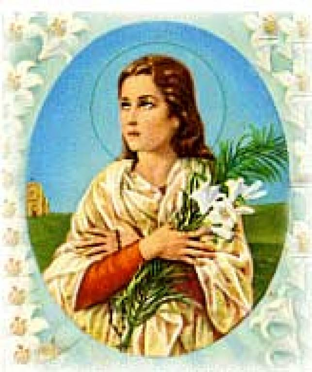 St maria goretti parish st maria goretti feast day sciox Image collections