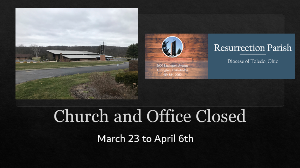 CHURCH & OFFICE CLOSED
