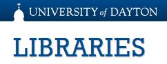 Univ Dayton Libraries