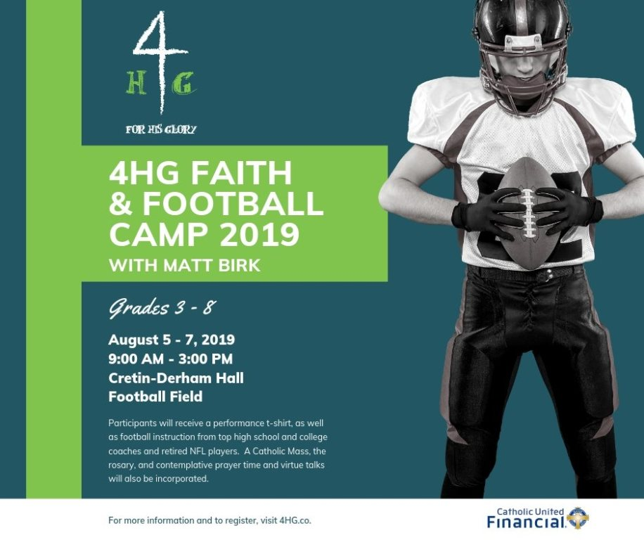 4HG Faith & Football Camp 2019