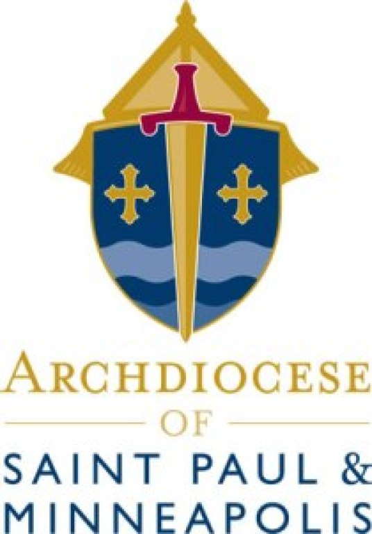 Archdiocese on St. and Minneapolis Logo