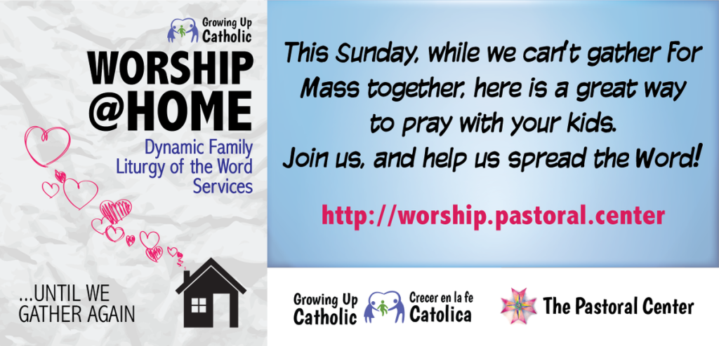 Worship at Home banner