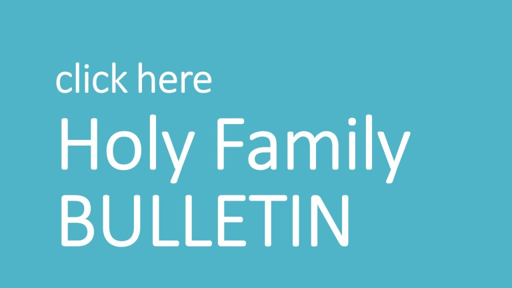 Holy Family Bulletin