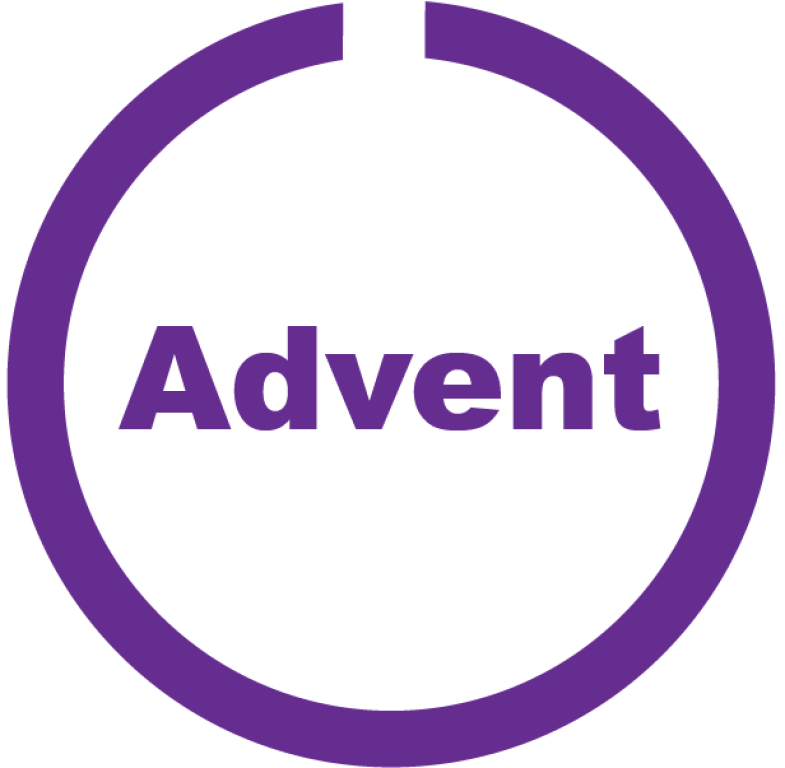 Advent button