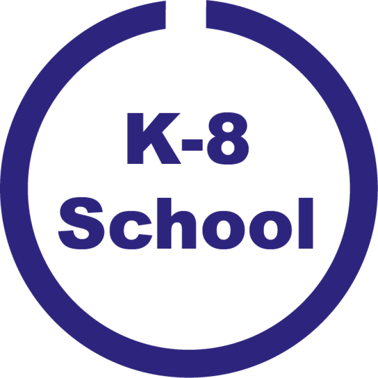 K-8 School button