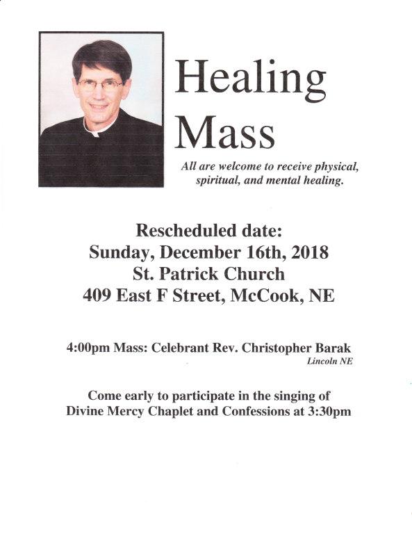 Healing Mass 2018