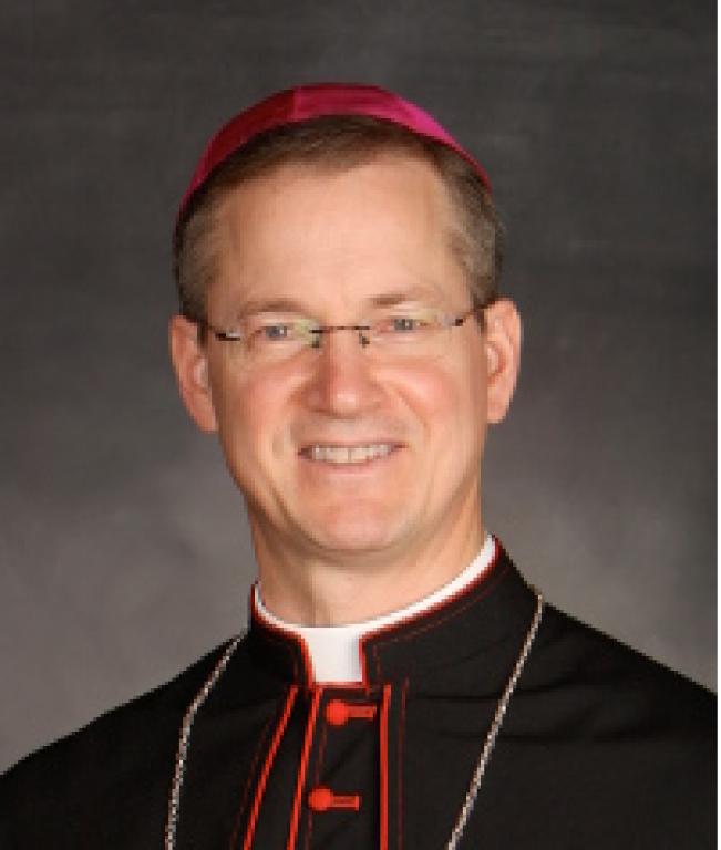 Most Reverend Bishop Paul Sirba