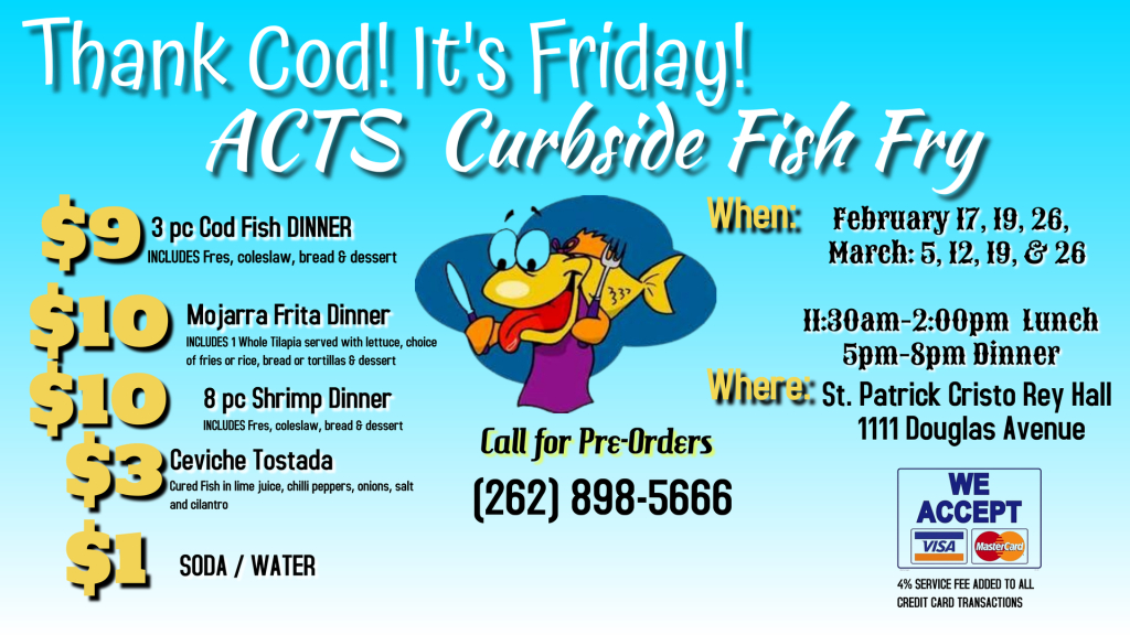 ACTS Youth Ministry Fish Fry